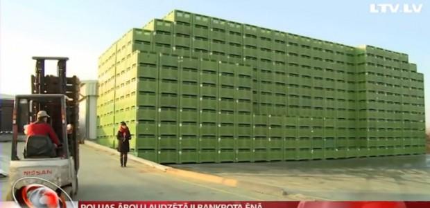 Łotewska telewizja wyemitowała reportaż o skutkach embarga w Polsce