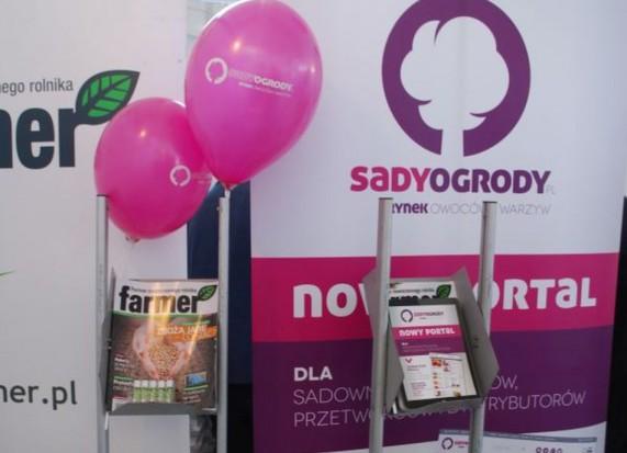 Sadyogrody.pl na targach Kielce Agrotech 2015