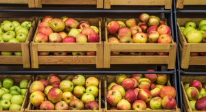 Importowane jabłka stanowią dużą konkurencję dla chińskiej produkcji