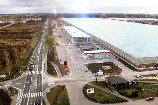 Citronex otwiera dyskont paliwowy przy szklarniach w Siechnicach