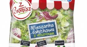 Bronisze sprzedają warzywa pod własną marką