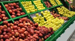 Ceny  jabłek w sieciach handlowych wahają się między 0,99-3,29 zł/kg