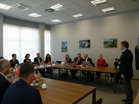 Chińska delegacja odwiedziła polskie sady