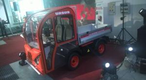 Ursus przedstawił prototyp samochodu dostawczego z napędem elektrycznym