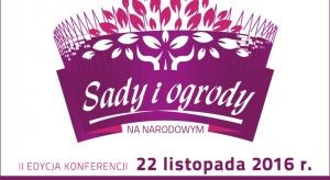 """Już 22 listopada zapraszamy na konferencję """"Sady i ogrody"""""""