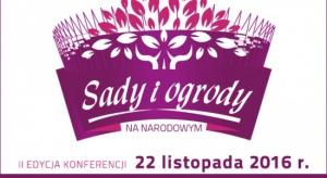 """Ostatni dzień rejestracji na konferencję """"Sady i ogrody""""!"""