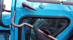 Rolnik odzyskał skradziony traktor
