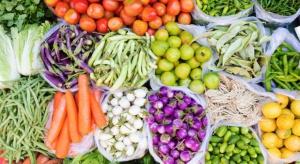 Spada produkcja owoców we Francji