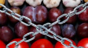 Rosjanie zatrzymali kolejną partię jabłek i pomidorów wwożonych z Białorusi