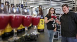 KSPCP razem piwowarami rzemieślniczymi stworzyli piwo z dodatkiem czarnych porzeczek (zdjęcia)
