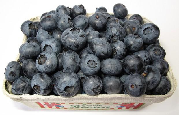 Plantatorzy borówek przekazali 500 kg owoców do stołecznych szpitali
