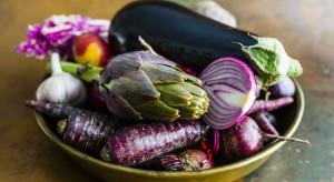 Owoce i warzywa w kolorze fioletu i purpury - nowy trend na rynku