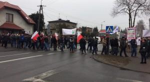 Unia Warzywno - Ziemniaczana: Strajki nie są wymierzone w rząd (zdjęcia)