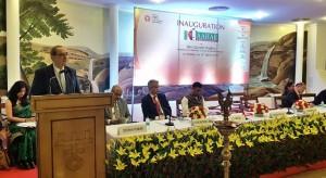 Sekretarz stanu Jacek Bogucki na targach Aahar w Indiach