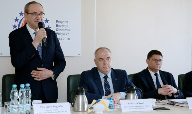 Bogucki: Silna marka polskiej żywności przyszłością eksportu