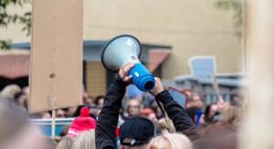 Producenci owoców protestowali w Kraśniku