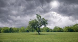 Prognoza pogody: Nadciągają opady deszczu i burze. Lokalnie gradobicia