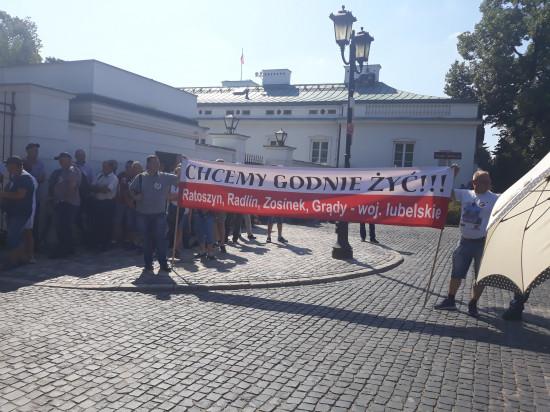 Kolejny raz polscy sadownicy protestują na warszawskich ulicach (galeria zdjęć)