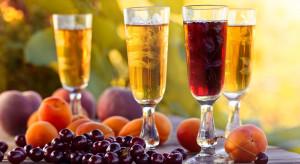 Produkcja win owocowych po siedmiu miesiącach niższa niż w 2017 roku