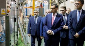 Minister Ardanowski i premier Morawiecki odwiedzili zakład firmy nawozowej Intermag