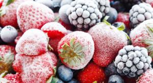 Produkcja mrożonych owoców w UE zmniejszyła się w ciągu ostatniego roku