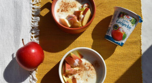 Lidl wprowadził na rynek jogurty z jabłkami grójeckimi