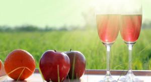 Spadek produkcji win owocowych po 10 miesiącach 2018 r.