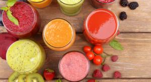 Soki owocowe korzystnie wpływają na utrzymanie prawidłowej masy ciała