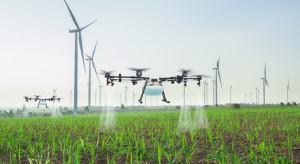 Drony coraz częściej wykorzystywane w rolnictwie