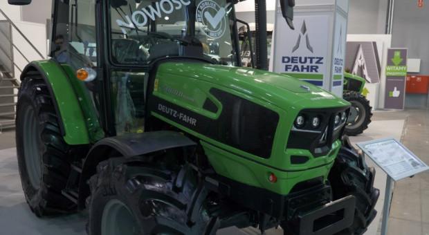 Podczas Agrotech Deutz-Fahr zaprezentował ciągnik 5080 D Keyline (wideo)