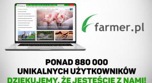 W maju portal Farmer.pl odwiedziło 881 713 unikalnych użytkowników!