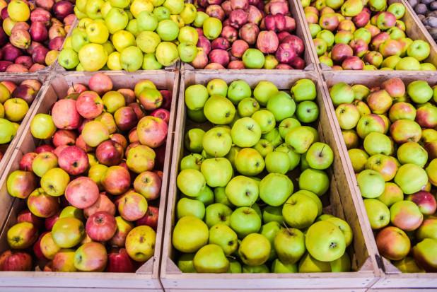 Zapasy jabłek w Polsce są wciąż wysokie