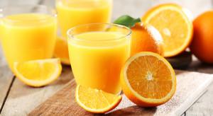 Spodziewany jest wzrost produkcji zagęszczonego soku pomarańczowego
