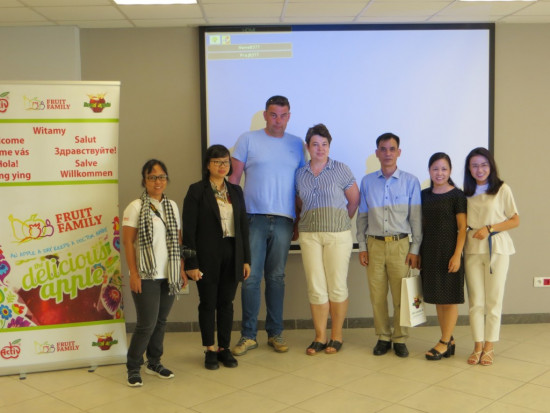 Rolnicza delegacja z Wietnamu odwiedziła Polskę
