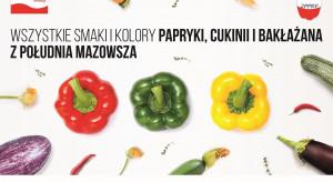 Rusza kampania promująca polskie warzywa z południa Mazowsza