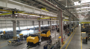 Płock: w fabryce CNH Industrial Polska otwarto nową halę produkcyjną kombajnów
