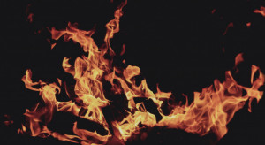 Mazowieckie: Spłonęła hala magazynowa sortowni owoców w pow. grójeckim
