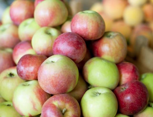 Bronisze: Mimo dużej podaży utrzymują się wysokie ceny jabłek