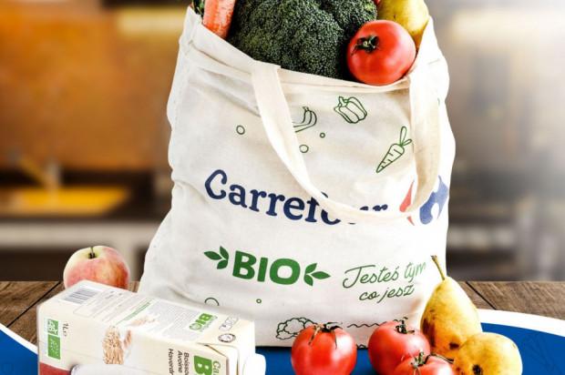 Carrefour promuje ofertę BIO w odpowiedzi na rosnące zainteresowanie konsumentów zdrową żywnością