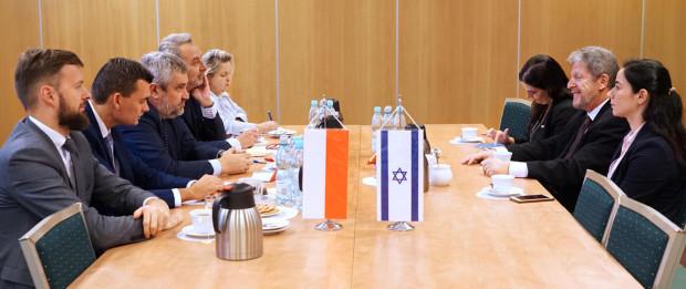Ardanowski prowadził rozmowy nt. współpracy polsko-izraelskiej w dziedzinie rolnictwa
