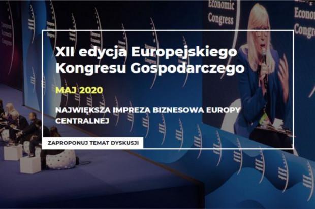 XII Europejski Kongres Gospodarczy: Rozpoczynamy prace nad agendą