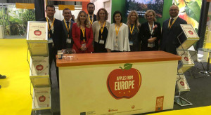 Przedstawiciele Unii Owocowej i Związku Sadowników RP promowali polskie jabłka w Dubaju