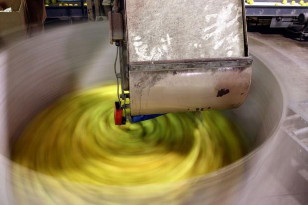 Chiny odbudowują produkcję koncentratu jabłkowego