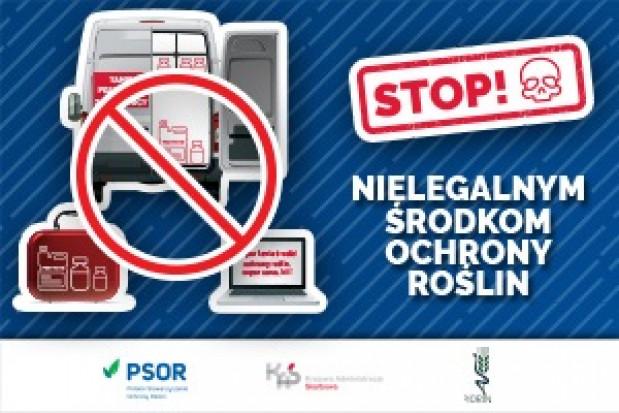 Kampania PSOR, KAS i PIORiN przeciw nielegalnym środkom ochrony roślin w nowej odsłonie