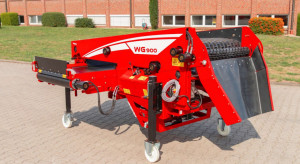 Grimme wprowadza nowy sortownik WG 900 do ziemniaków i cebuli