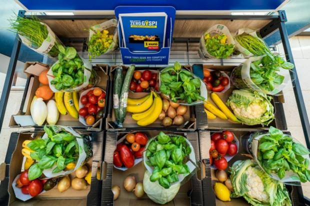 Belgijski Lidl: 1 euro za 3 kg owoców i warzyw z bliskim terminem przydatności