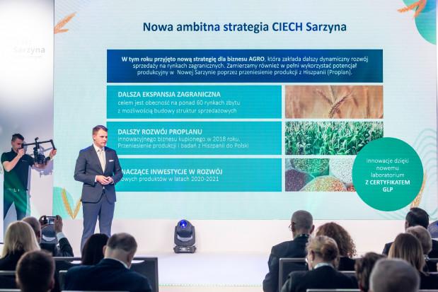 Nowa strategia CIECH Sarzyna: więcej produktów i intensywna ekspansja zagraniczna