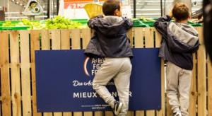 Carrefour oferuje dzieciom bezpłatne owoce i warzywa