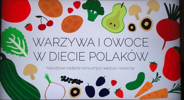 """Ruszyły """"Narodowe badania konsumpcji warzyw i owoców"""""""