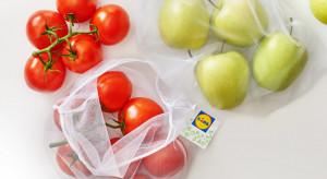 Lidl wprowadza woreczki wielokrotnego użytku na warzywa i owoce